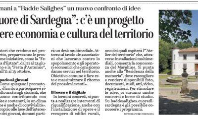 """""""Marghine Cuore di Sardegna"""": c'è un progetto per promuovere economia e cultura del territorio"""
