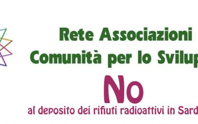 NO al Deposito dei rifiuti radioattivi in Sardegna
