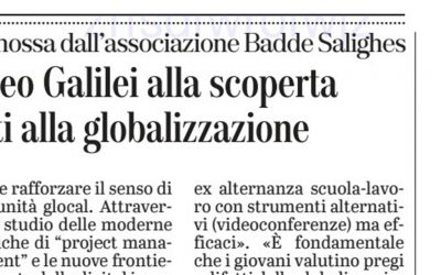 Gli studenti del Liceo Galilei alla scoperta di vizi e virtù legati alla globalizzazione